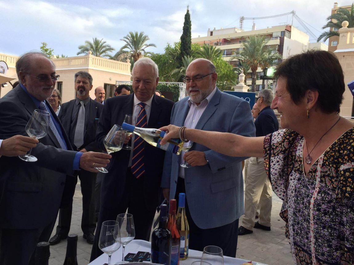 El ministro José Manuel García-Margallo con el
